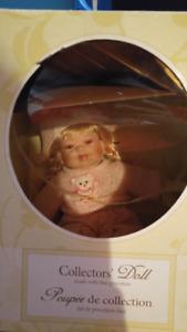 Collectors porcelain Doll