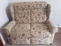 Two Seater patterned Sofa