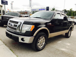 2010 FORD F-150 KING RANCH CREW CAB 4X4 TOP OF THE LINE!!!