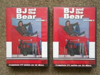 BJ & The Bear 80's tv series complete Dvd