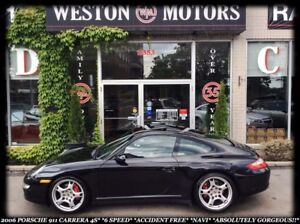 2006 Porsche Carrera 911*4S*6SPEED*NAVI*ACCIDENT FREE*GORGEOUS!!