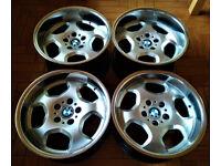 Deep Dish R17 Rondell Contour BMW wheels * Staggered 8.5J&10J