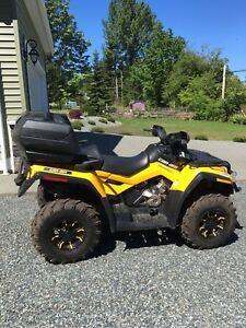 2012 Can-am Outlander Max XT 800