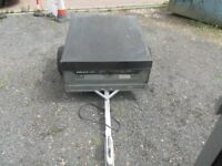 4/3 metal box trailer in good condition £70 more trailers in stock