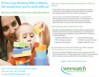 Work From Home! Become A Licensed Home Child Care Provider