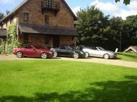 Mercedes slk convertable low miles fsh ex cond 2 owners... 3 cars for sale