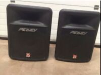 Peavey Impulse 200 passive (non-powered) speakers. great condition