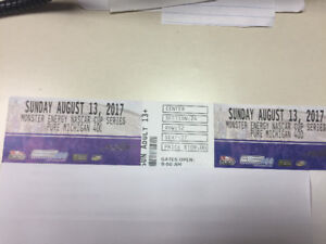 NASCAR tickets for sale