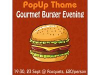 Gourmet Burger Evening - PopUp Restaurant