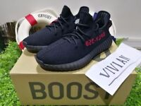 Adidas Yeezy Boost 350V2 Real Boost Core Bred