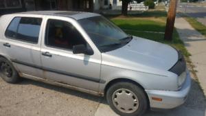 1993 VW GOLF, INCREDIBLE STARTER CAR