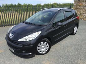 2007 57 PEUGEOT 207 1.4 SW ESTATE CAR - *ONLY 61,000 MILES* - ONLY 1 FORMER KEEPER - GOOD EXAMPLE!