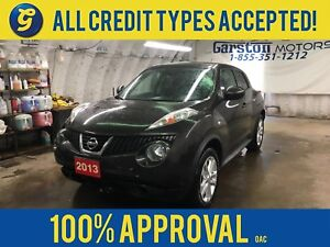 2013 Nissan Juke SV*AWD*CVT*TURBO*PHONE CONNECT*AM/FM/CD/AUX/*AL