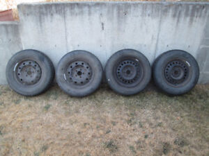 14'' winter tires on chevy 5x100 rims