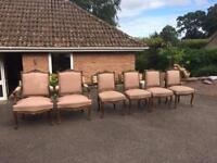 Antique chairs set of 6