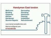 Handyman East London - £30 an hour