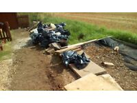 FREE BALLAST/HARDCORE/RUBBLE ALL BAGGED UP IN 25 MANAGEABLE HEAVY DUTY SACKS..TAKE WHAT YOU WANT SG2