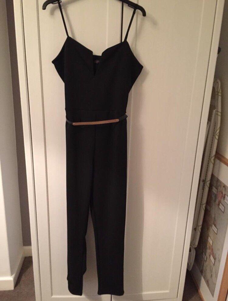 Black jumpsuit size 12