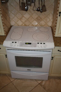 """30"""" Self-Clean Convection Slide-In Electric Range- White"""