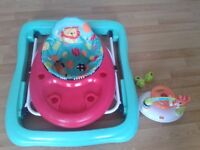 Baby walker Bright Stars (almost new; for collection only) s