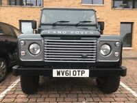 Full Land Rover Service History, New Tyres on the Front, Excess Alloys, Never Taken Off Road