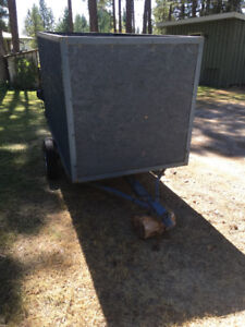 Utility Trailer with box