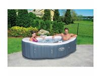 Lay-Z-Spa Siena Airjet 2 person hot tub. Brand new and sealed.