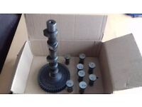 Selection of classic vw 1600 beetle engine parts