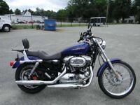 Harley Davidson 1200cc Sportster original exhaust system.