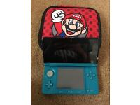 3D ds with charger Mario and cars game and case COLLECT ONLY