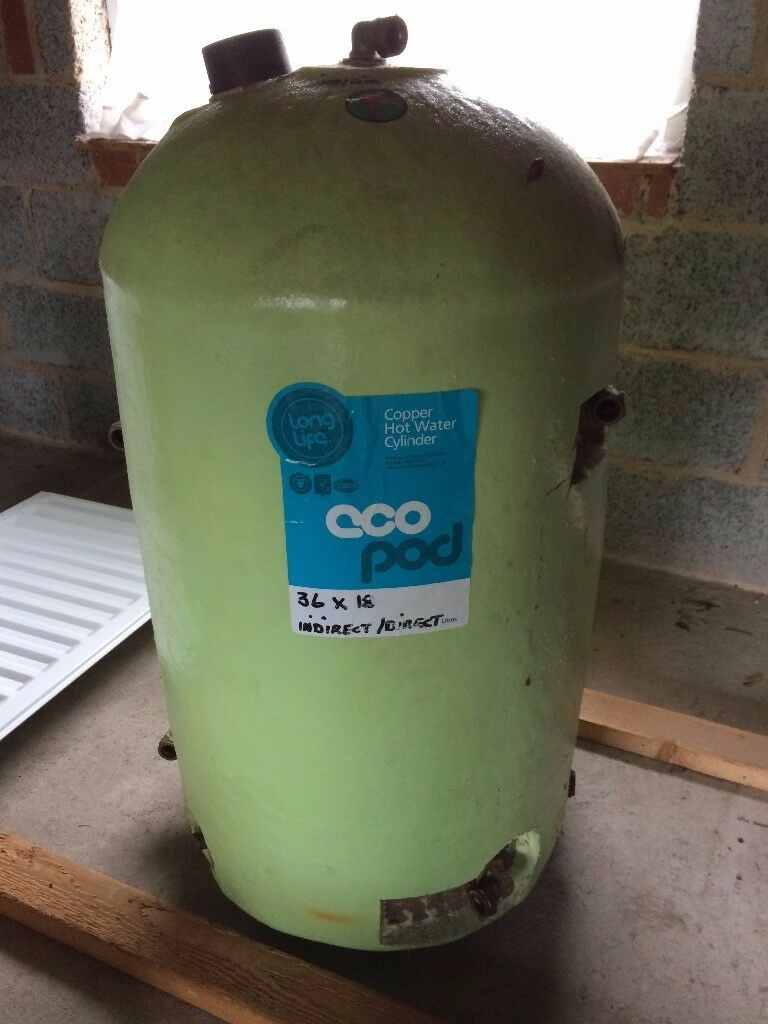 INDIRECT / DIRECT COPPER CYLINDER HOT WATER TANK | in Bangor, County ...