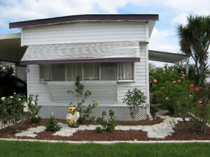 MOBILE HOME FOR RENT PINE TO PALM RESORT PARK, WESLACO, TEXAS