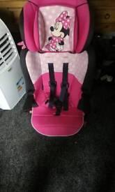 Girls Disney car seat
