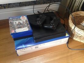 Sony PS4 like new + games