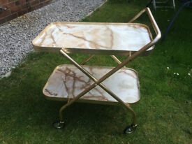 Wedding Tea Trolley x 10 (includes floral trolley covers)