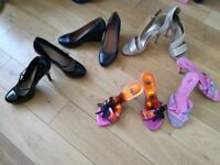 Various womens shoes, various prices
