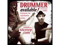 Drummer/Songwriter AVAILABLE in Hackney