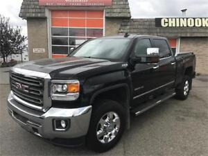2015 GMC Sierra 2500HD SLT Z71 4X4 NAV, LEATHER. P.BREAKES