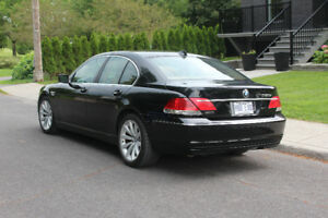 2007 BMW 7-Series cuire Berline