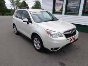 2015 Subaru Forester i Convenience PZEV only $166 bi-weekly!