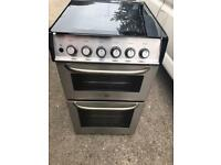 Zanussi Stainless Steel Gas Cooker 50cm