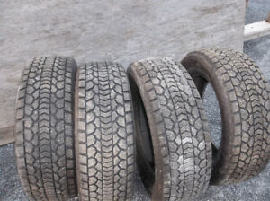 four like new tires