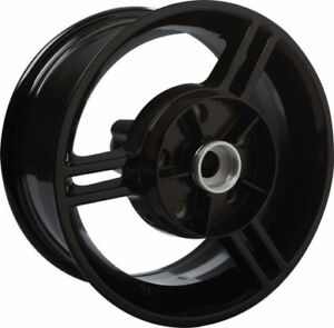 REAR WHEEL & HUB KIT, NEW, BLACK , CAN-AM SPYDER 2012 & PRIOR