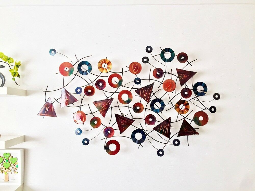 Artisan House Wall Sculpture - Kaleidoscope - Signed C. Jere   in ...