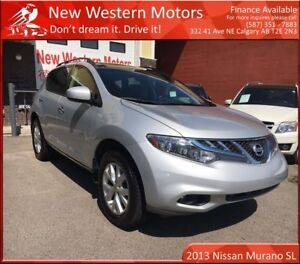 2013 Nissan Murano SL!!AWD!!!1OWNER!! ACCIDENT FREE! LEATHER! B.