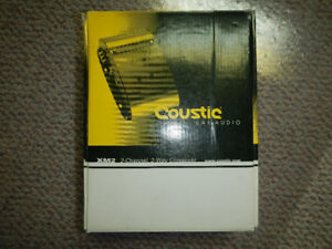 Coustic Car Audio 2-way Crossover, back in Phoenix Gold days