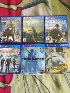 PS4 Games Excellent condition!