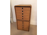 10 drawers filing cabinet chest