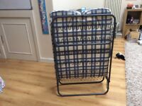 Folding single guest bed / camp bed. Great condition