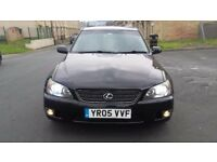 Lexus is200 Fully loaded Black on Black Very Rare Model Final Edition Full Leather Alloys Sat Nav